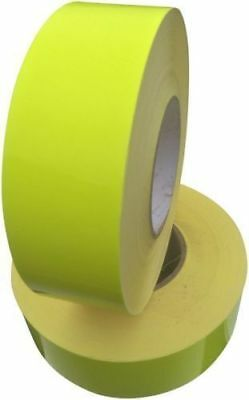 """New Reflective Tape Yellow Sew On 2"""" Width Trim vest Fabric 300cm = 10 Foot"""