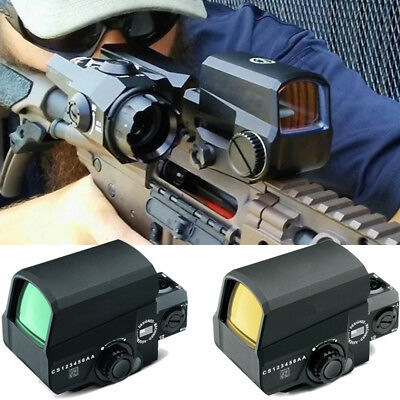 For Pistol Hunting Tactical Optic LCO Reflex 1X Red Dot Sight Matte 1 MOA Dot