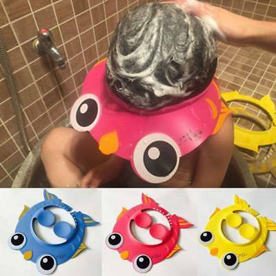 Creative Baby Kids Safe Shampoo Bath Bathing Shower Cap Hat Wash Hair Shield