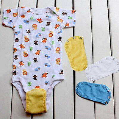 1/5x Baby Girl Boy Package Fart Clothes Longer Extension Piece Infant Accessory