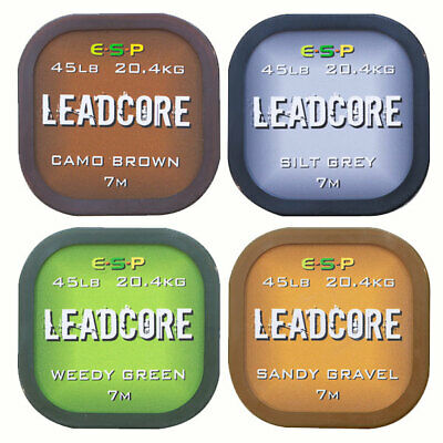 ESP Leadcore, 7m Spools, Leadcore, lead leaders, carp fishing, NEW