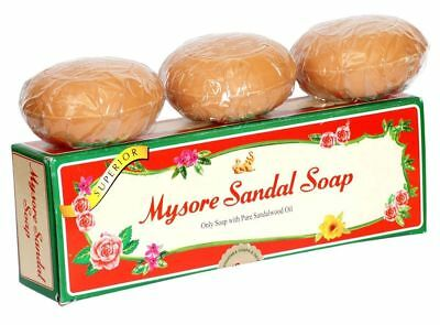 Mysore Sandal Soap | 150g | Pack of 3 | Total = 450gm Free Shipping