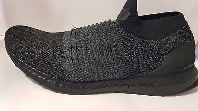 9cb17af06cf36 Adidas Ultraboost Laceless BB6222 100% Authentic Mens 11 US DEADSTOCK BLACK