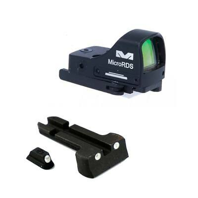 Meprolight Micro RDS Red Dot Optic Sight Kit for CZ, Glock, Sig Sauer,