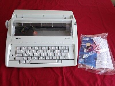 BROTHER AX-100 ELECTRIC TYPEWRITER - Great Condition