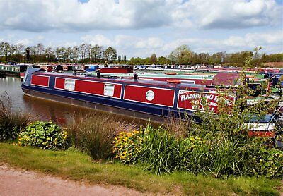 Beautiful 57ft Trad Stern narrowboat Piper built 2004