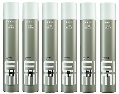 6x Wella Professionals EIMI Dynamic Fix 45 Seconds Styler 500 ml