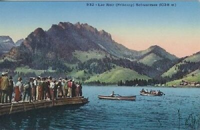 Lac Noir - Schwarzsee ca. 1910