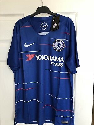 Chelsea 2018/19 Home Shirt Large