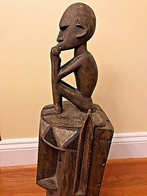 Authentic Antique African Mask