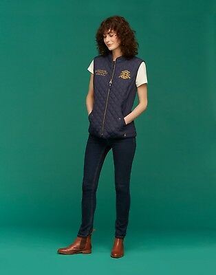 *SALE* Joules Official Burghley 2018 Gilet/Waistcoat - French Navy- UK8-UK18