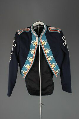 Vtg 1960s Colonial Style Marching Band Uniform Jacket sz XS 32 Reg 60s #5467