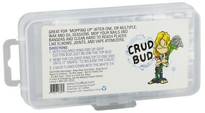 30PC - Crud Bud Alcohol Filled Cotton Buds