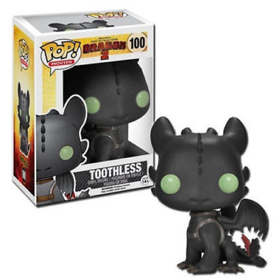 Hot Funko POP! Movies How to Train Your Dragon 2 Toothless Pop Figure Toy