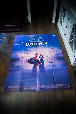 LOST RIVER Ryan Gosling 4x6 ft Vintage French Grande Movie Poster Original 2015