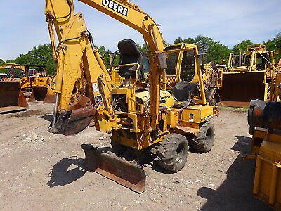 Vermeer RT450 Trencher RUNS MINT 4WD Deutz Dsl Backhoe RT-450