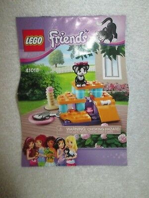 Lego Friends Instruction Manual Booklet Only 3186 Emmas Horse