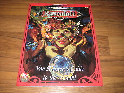 AD&D 2nd Ed. Ravenloft RR12 Van Richten's Guide to the Vistani TSR 9477