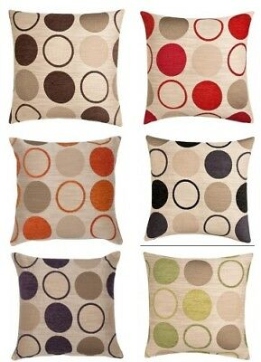 Designer Spots Cushion Covers 17 Inch (43cm) Large 23 Inch (58cm) Zipped Covers