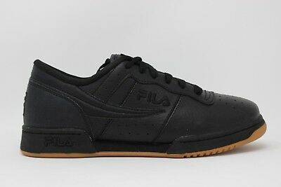 MEN'S FILA ORIGINAL Fitness Zipper 1FM00009 124 Black Gold