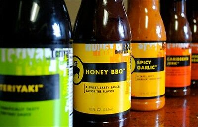 Buffalo Wild Wings Sauce and seasonings- ALL FLAVORS - FREE Shipping!