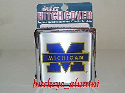 NIP! BULLY Trailer Hitch Cover University of Michigan