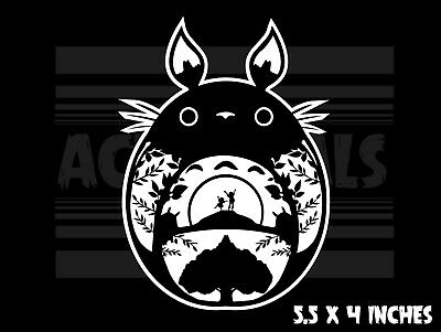 My Neighbor Totoro - Ghibli - Anime - Laptop Car Vinyl decal sticker
