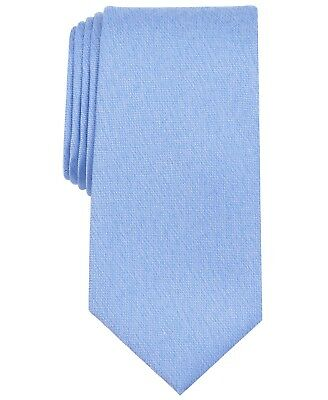 $90 Nautica Men/'S Blue Solid Silk Neck Tie Skinny Classic Dress Necktie 56x3.25
