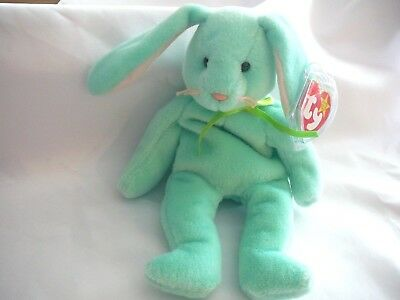 """Ty Beanie Baby HIPPITY the Rabbit RARE with Multiple Tag ERRORS-""""ORIGIINAL"""""""