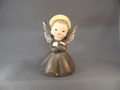 Vintage Christmas Napcoware R3258 Porcelain Figurine Boy Angel Monk Made Japan