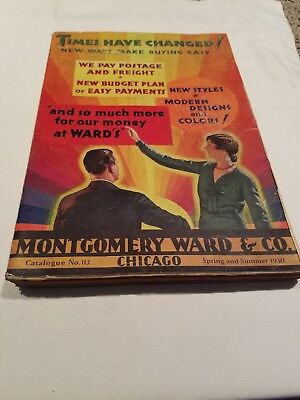 MONTGOMERY WARD CATALOG Spring Summer 1930 Fashion Toys Housewares & More