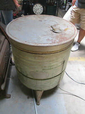Antique Savage Arms Company Stainless Copper Washer & Dryer WASHING MACHINE