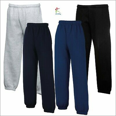 Fruit Of The Loom Children's Classic Elasticated Cuff Jog Pants Casual Jogging