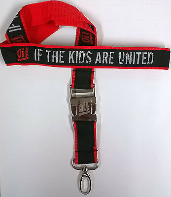 Oi! If The Kids Are United Schlüsselband lanyard