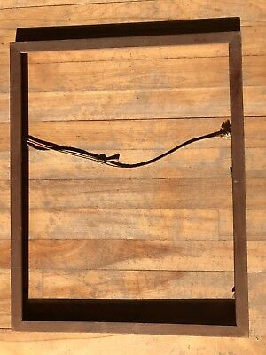 """Vintage Wooden Picture Frame (19.25"""" x 15.25"""" x .5""""), Canada"""