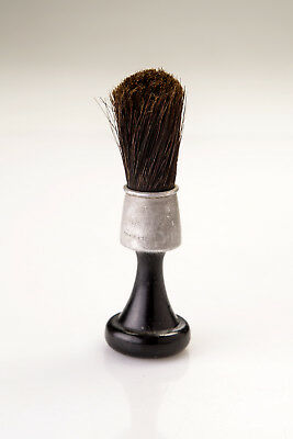 Vintage Heldtite Wood and Aluminum Shaving Brush#48050 Nice for Use or Display