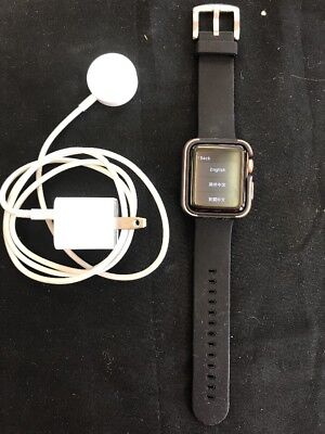 Apple Watch Series 3 38mm Used With Case And Charger Rose Gold