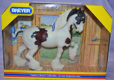 Breyer Classic American Spotted Draft Horse #620 NEW IN BOX Shire B