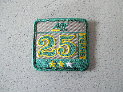 Brand New Abf Freight 25 Years Of Service Patch