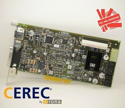 Sirona Cerec AC Acquisition Supply Board 61-37-413 D3492 CAD/CAM Blue Cam PCB