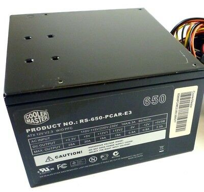 COOLER MASTER 650W EXTREME POWER PLUS ATX Power Supply PSU RS-650-PCAR-E3