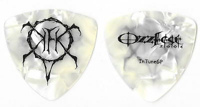 Slayer Kerry King black/pearl tour guitar pick