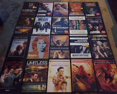 LOT OF 20 Suspense/Action/Mystery/Thriller Assorted Mixed DVD Movies  Collection