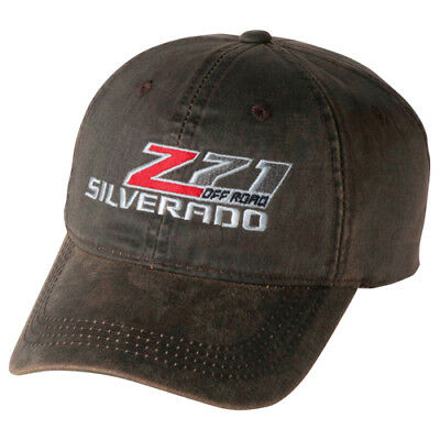 Chevrolet Frayed Z71 Off Road Chevy Truck Bowtie Cap Weathered Hat New Silverado