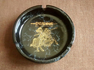 Excalibur Las Vegas Ashtray Vintage Willco Made in Japan
