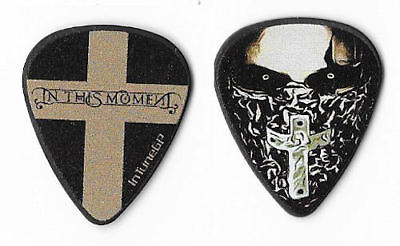 In This Moment color/black tour guitar pick