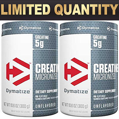 Dymatize Nutrition Creatine Unflavoured Monohydrate Muscles Exp 30-09-19