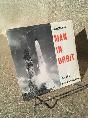 Vintage Record: America's First Man In Orbit John Glenn 1962 Cape Canaveral