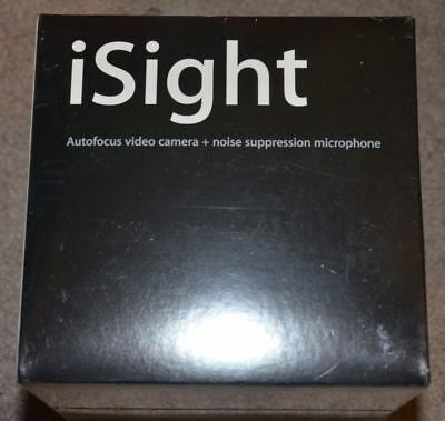 Apple iSight firewire autofocus video camera and microphone new sealed M8817LL/A