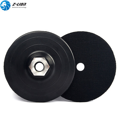 1Pc 4 inch Plastic Backer Pad Angle Grinder Backing Pad Backing Plate 5/8-11 M14